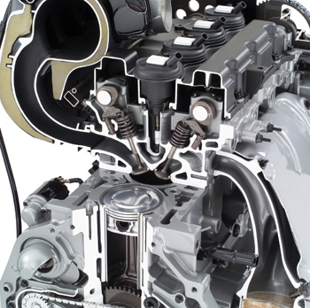 tech feature straight up look at the vortec 3500 straight five engine rh counterman com I 5 Engine Chevy Inline 5 Cylinder Engine