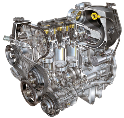 tech feature straight up look at the vortec 3500 straight five engine 3 Rotor Engine