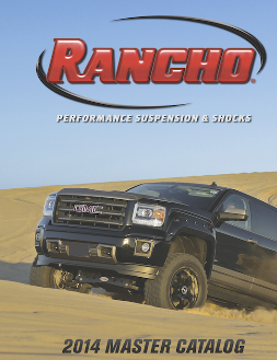 2014-'15 Rancho Master Catalog Highlights Latest Performance Lift
