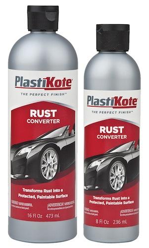 PlastiKote Rust Converter Stops Rust Fast