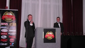 At left, NPW President and CEO Larry Pacey with his son Chris, VP of Sales for NPW.