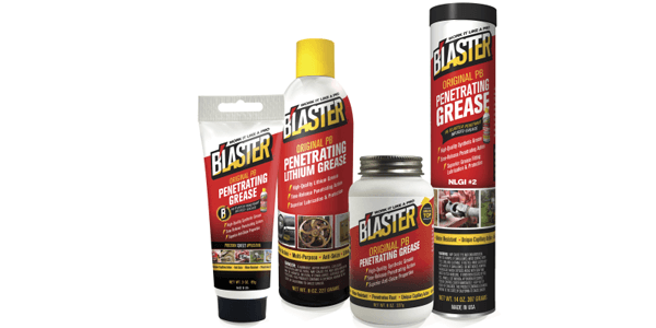 B'laster Corporation Launches PB Penetrating Grease Plus Full