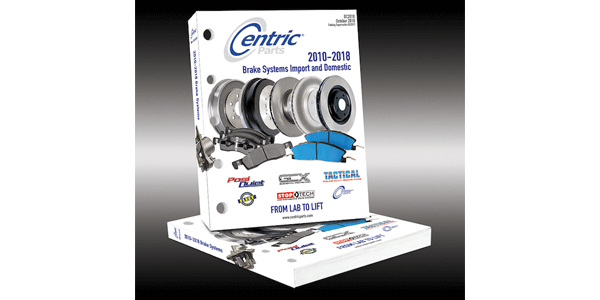 Award Winning Centric Brake System Parts Catalog Features Latest