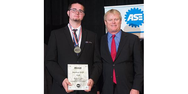 2018 ASE- Technician of the Future Matthew Wolfe and Ben Johnson