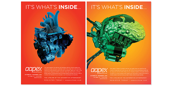 AAPEX 2018, Print Advertising Campaign