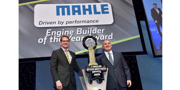 Roush Yates Engines Wins MAHLE Engine Builder of the Year