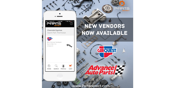 Advance Auto Parts to Use Mobile Search Tool from Parts Detect