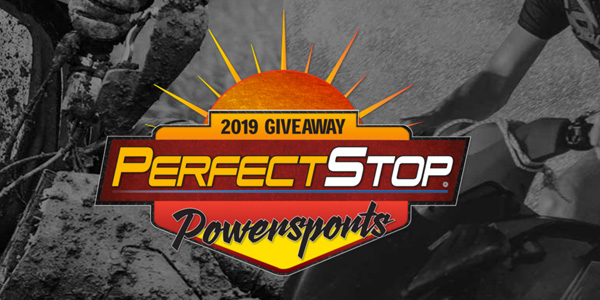 Perfect Stop Finishes Powersports Sweepstakes
