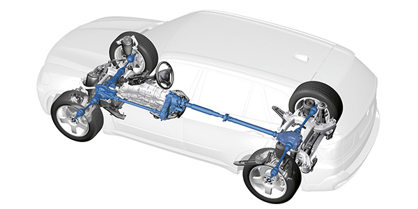 Simplifying All-Wheel-Drive Systems