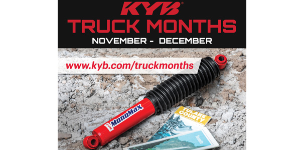 When To Replace Shocks And Struts >> Kyb Truck Months Promotion Rewards Shops Diyers For