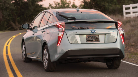 Toyota Prius Regenerative Braking