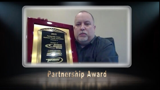 The Network receives Partnership Award