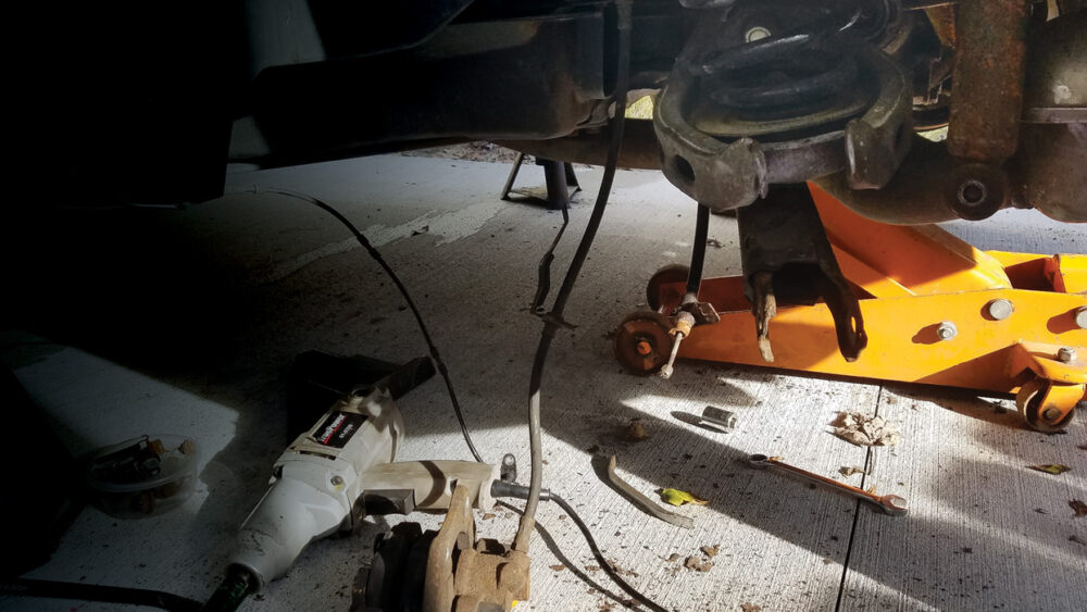 Replacing a Trailing Arm