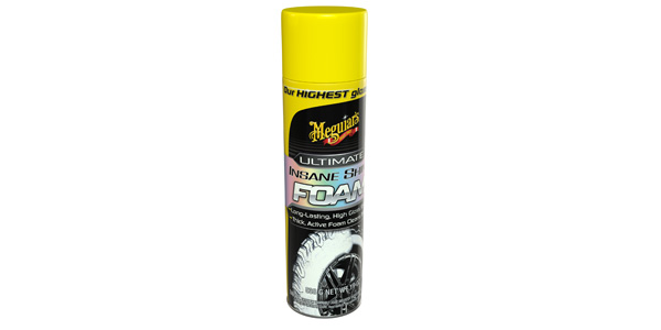 Meguiars Insane Shine Foam for cleaning tires